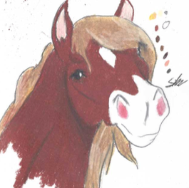 Horse profile 1 by SilverArt100