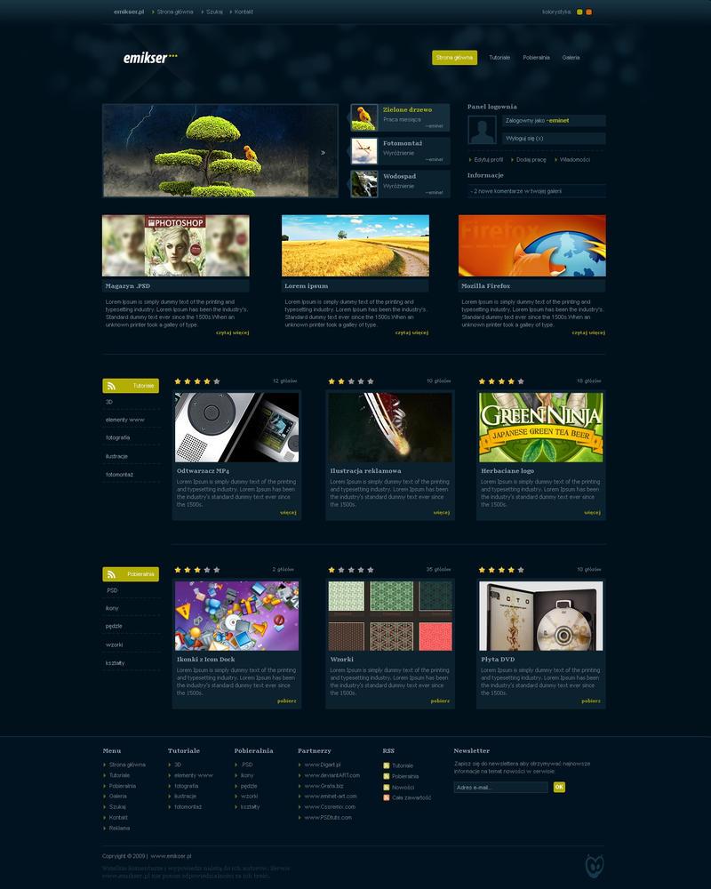 emikser.pl website by eminet