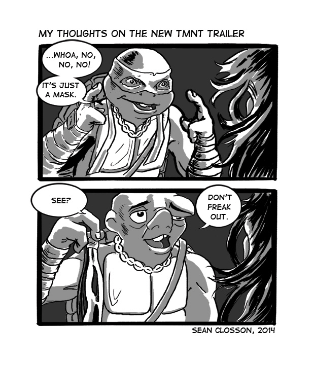 My Thoughts On The New TMNT Trailer by 0CoffeeBlack0