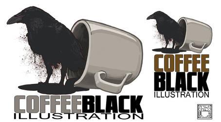 CoffeeBlack Illustration Logo (WIP)