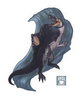 Spinosaurus aegyptiacus by 0CoffeeBlack0