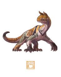 Shringasaurus indicus by 0CoffeeBlack0