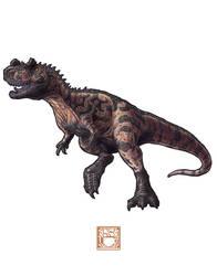 Ceratosaurus nasicornis by 0CoffeeBlack0