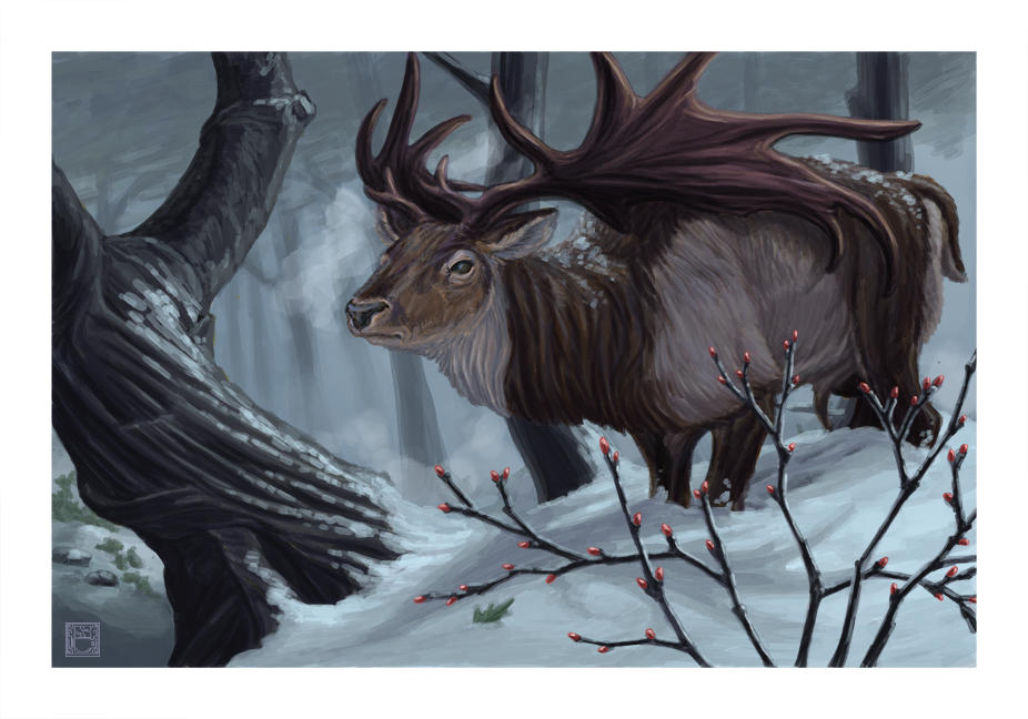 Echoes of an Ancient Winter - Megaloceros gigant