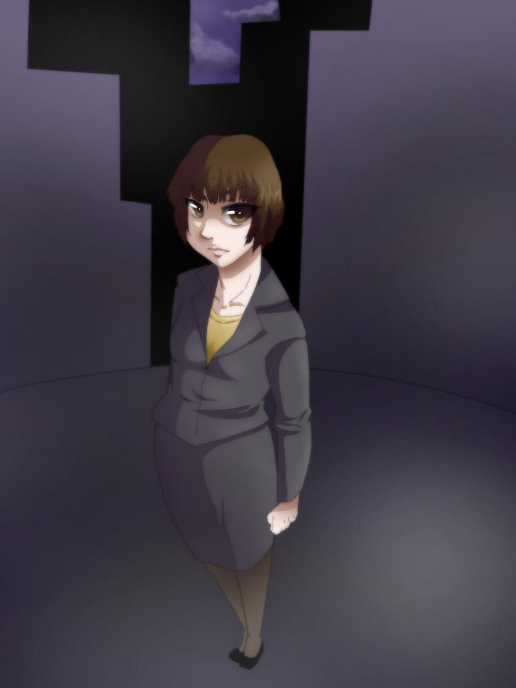 Tsunemori Akane by Meeps-Chan