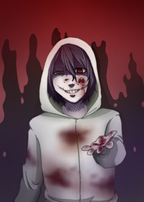 Creepy Pasta: Jeff the Killer by Meeps-Chan