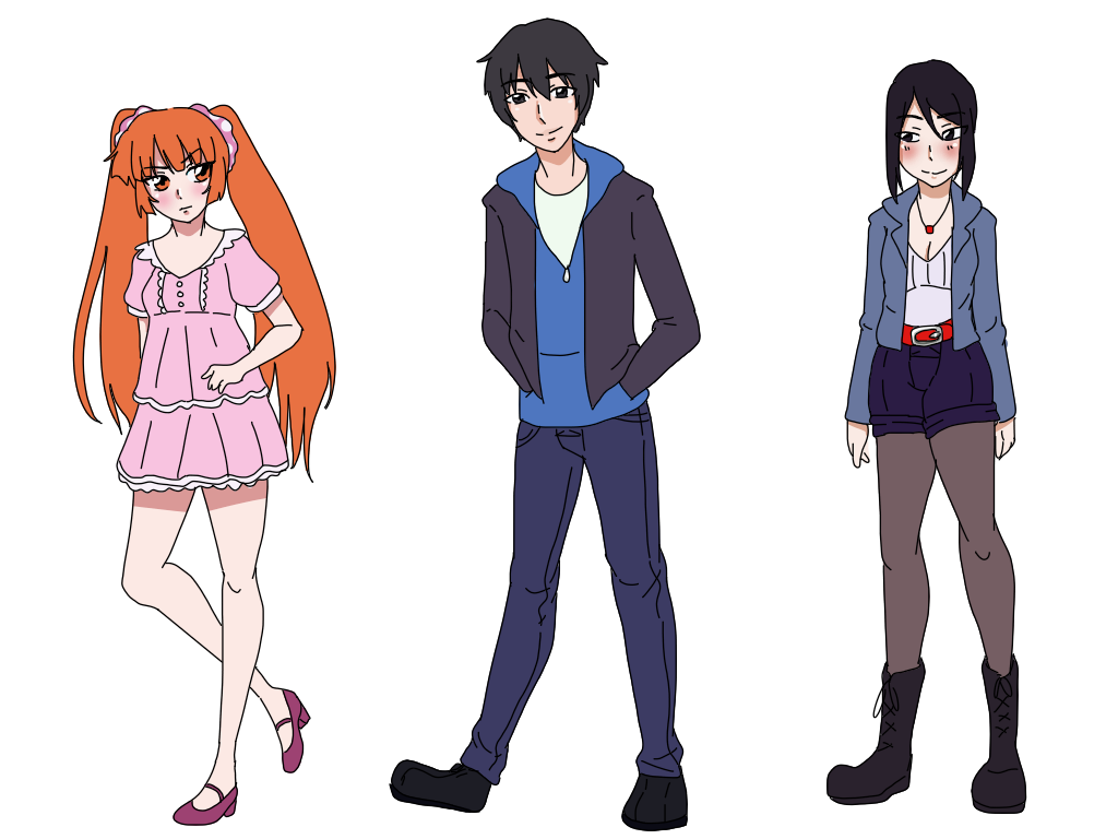 Yandere Sim Casual Clothes by Meeps-Chan on DeviantArt