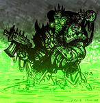 W40k: Plague Marine
