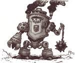 Steam Battle Robot