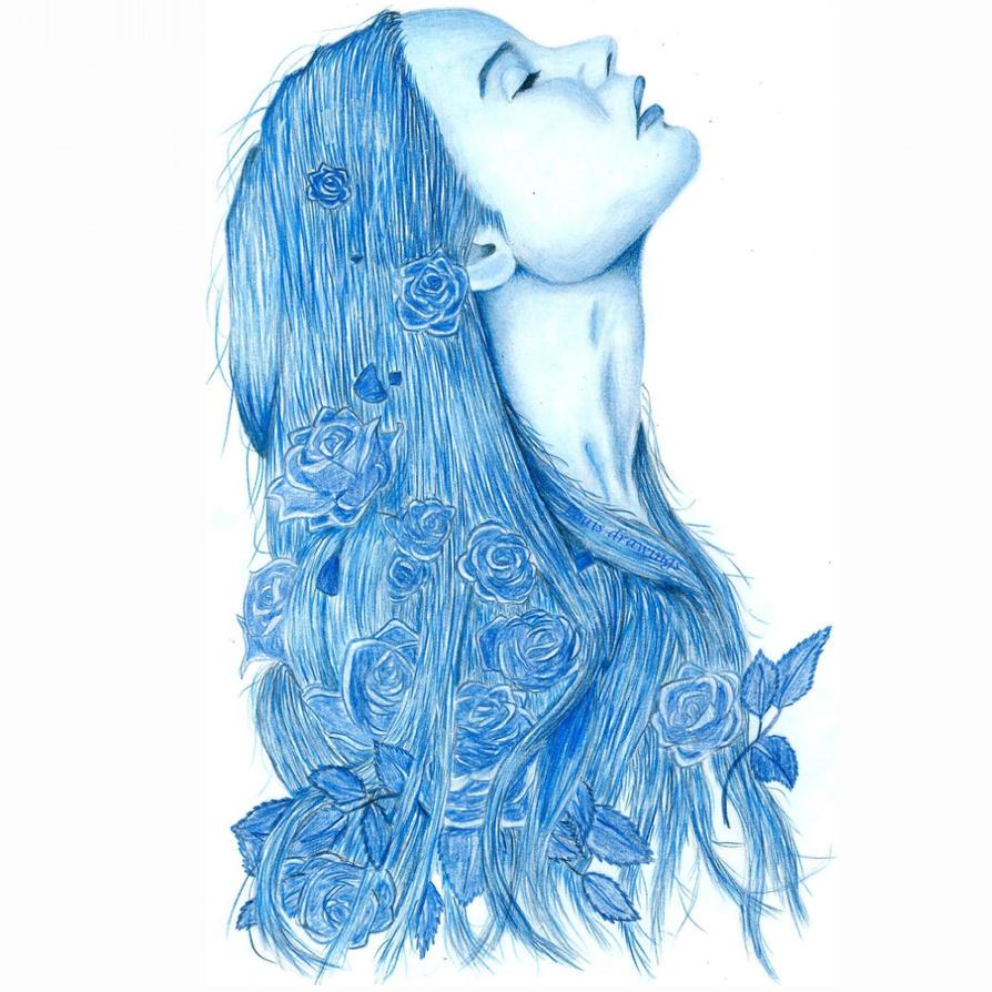 Flower Girl Drawing By LouisDrawings On DeviantArt