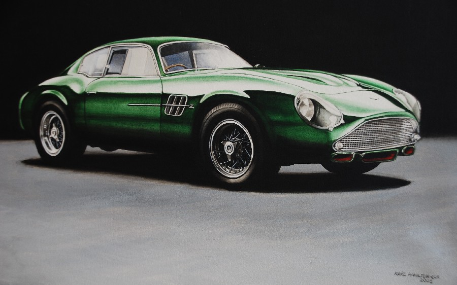 Aston Martin DB4GT Zagato by karlhcox