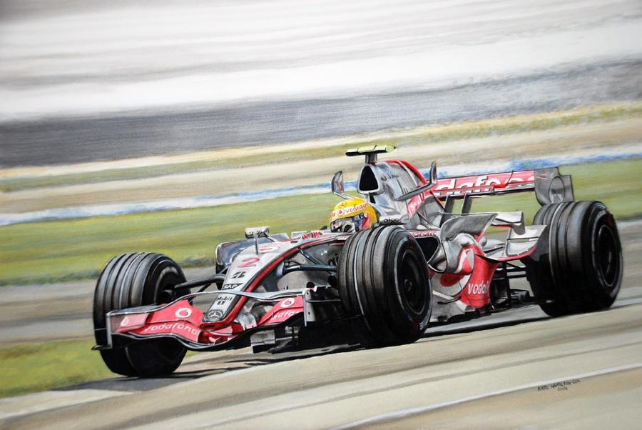 Lewis Hamilton 2 by karlhcox