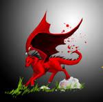 Dragonicwolf running