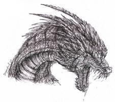 Evil Dragon ROAR lol