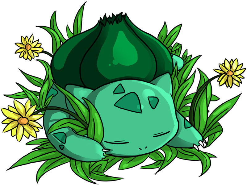 Sleeping Bulbasaur