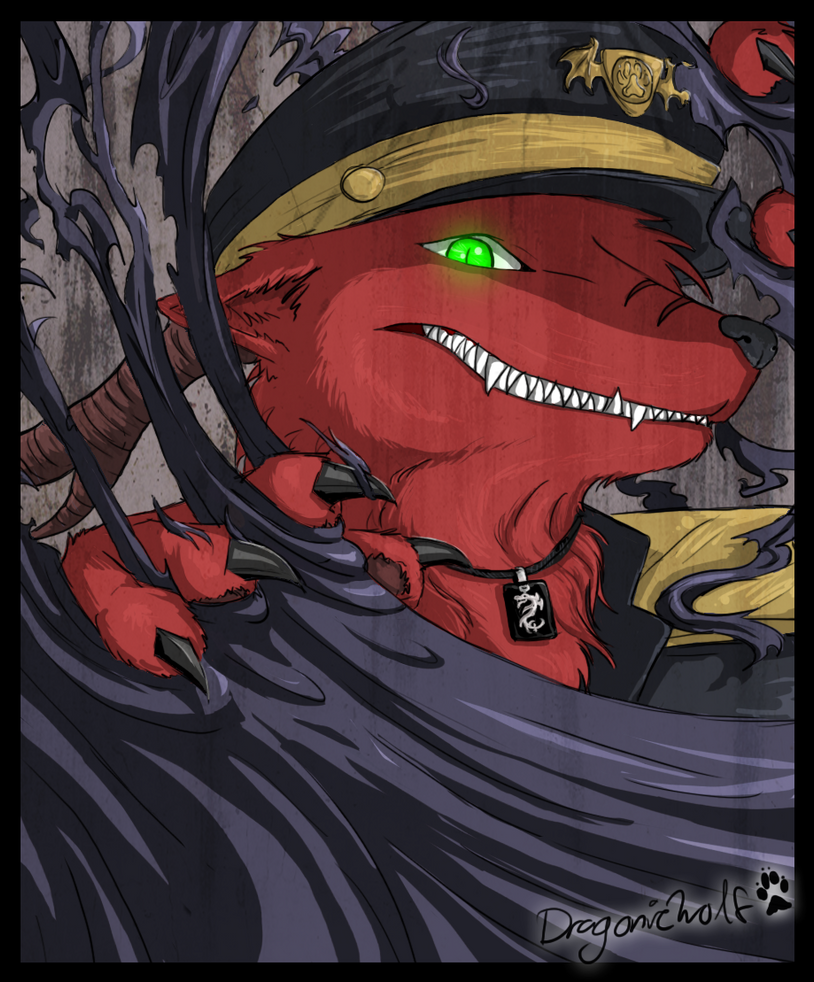 GOTCHA by dragonicwolf