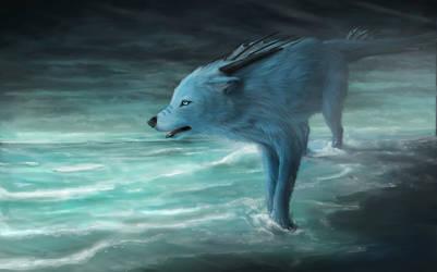 Justin and the cold sea desu