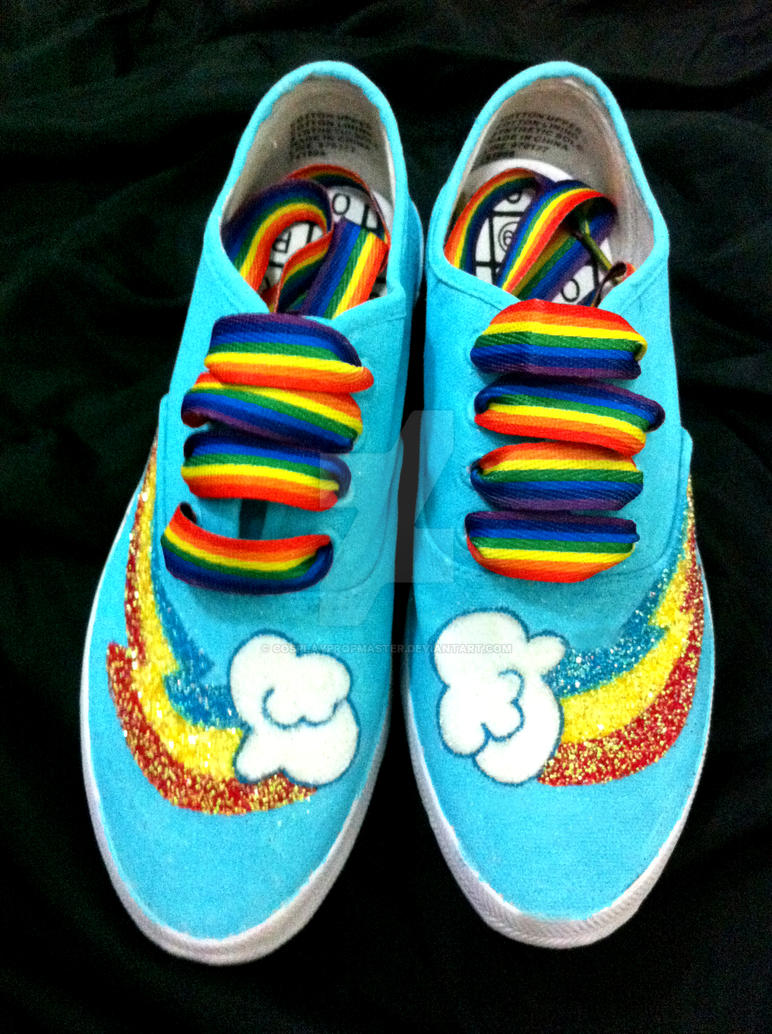 Rainbowdash Shoes Sise  For Sale