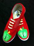 Big Mac Bronie Style Shoes
