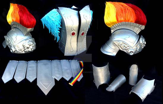 Rainbow Dash Crystal Empire Armour