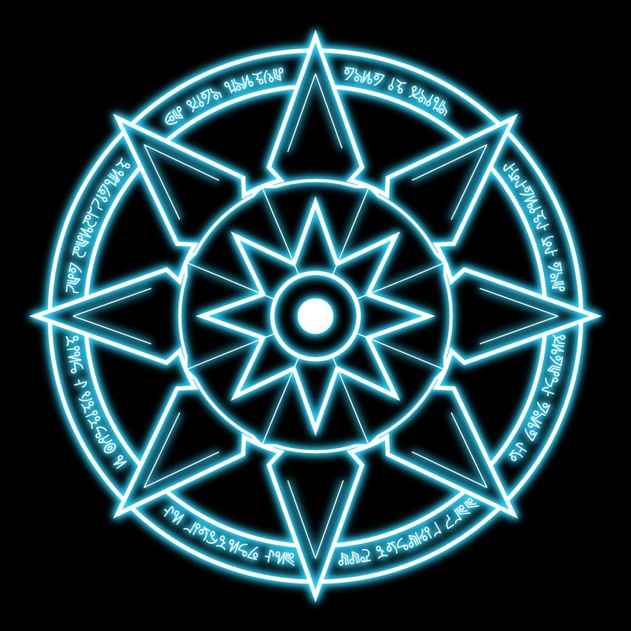 Magical Glyphs - Spell Symbols 2 3D Models 2D Caballus