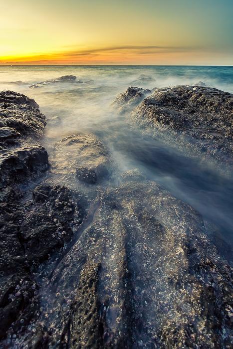 a classic coast scene by lauznis