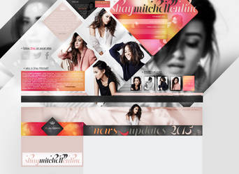Layout ft. Shay Mitchell by PixxLussy