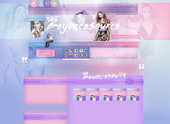 layout ft. Beyonce by PixxLussy