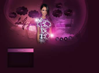 Layout ft. Eiza Gonzalez by PixxLussy