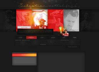 Layout ft. Sebastian Vettel #02 by PixxLussy