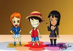 Nami Luffy Robin