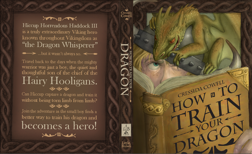 How To Train Your Dragon Book Cover