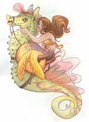 Mermaid by Camelid