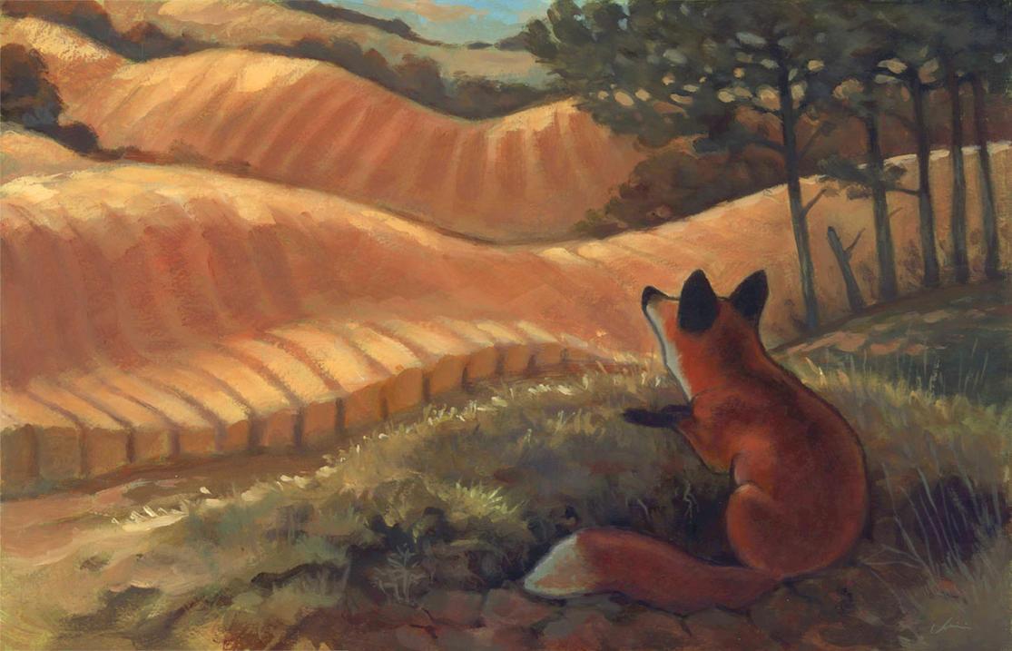 Wheat Fields by Camelid