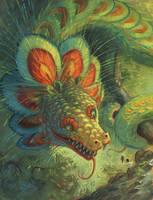 Quetzalcoatl: repaint by Camelid