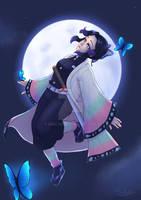 Shinobu Moon by Shalyes
