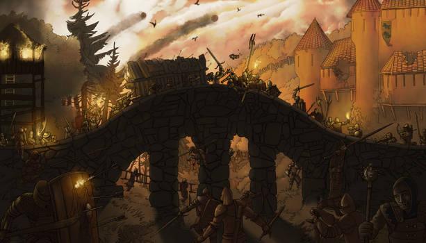 The siege of Faedric's Keep