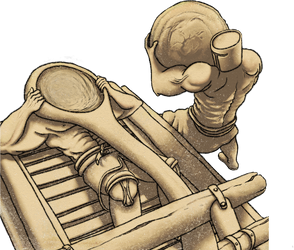 Hand-catapult