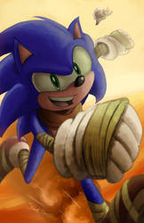 Sonic BOOM! by RavenousRuss