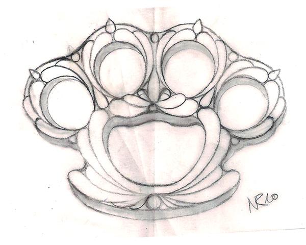 Brass Knuckle Drawing 48955   BURSARY