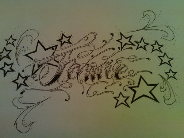 name tattoo by TattooJamie on deviantART