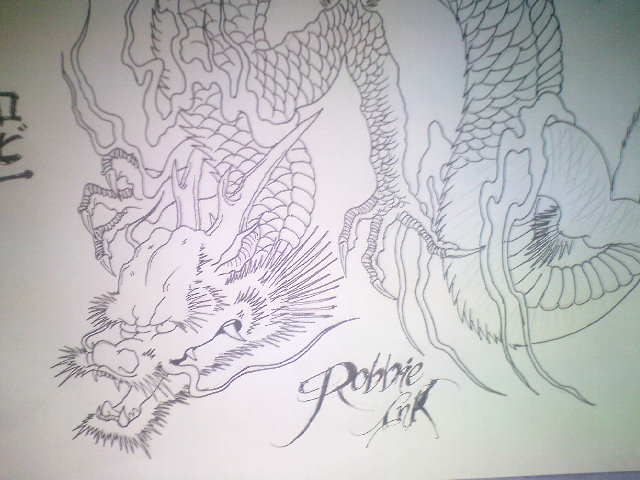 Chris Garver Japanese Dragon Tattoo Pictures Forearm Tattoo