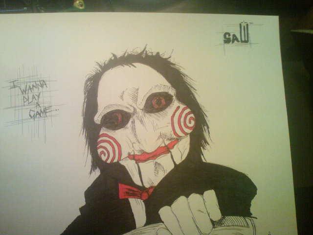 jigsaw puppet by TattooJamie on DeviantArt