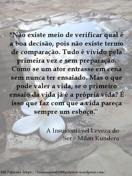 Abandono e Milan Kundera