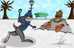[R]Judy and Nick having a Snowball Fight