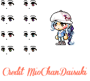 [Custom Eyes]2-Hot Mess by MioChanDaisuki