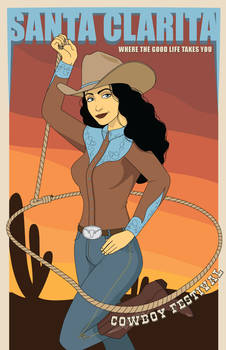 Santa Clairta Poster #1 Cowboy Festival
