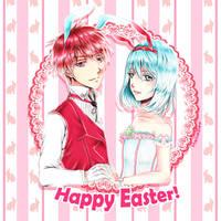 Happy Easter! - AkaKuro by Hana--bee