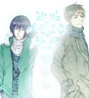 Kiyoshi and Hanamiya - Kuroko no Basuke by Hana--bee