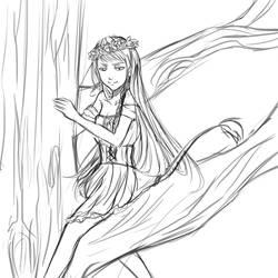 Huldra Princess by Hana--bee